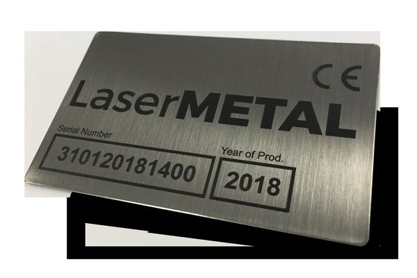 Graveren van metaal met de laserMETAL lasermachine serie