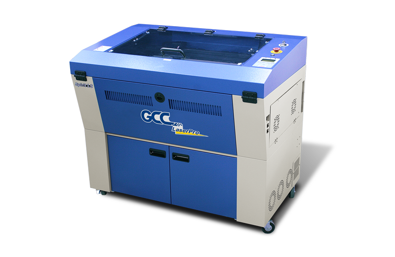 GCC-spirit-LS, metal tube co2 lasergraveermachine